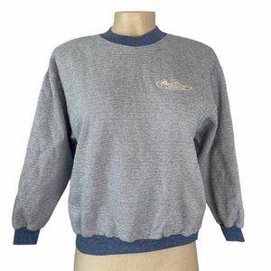 CONVERSE ALL STAR Blue Pullover Sweater Medium VTG